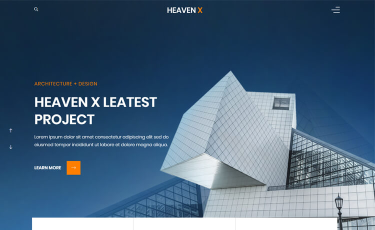 Free Bootstrap 4 HTML5 Interior Designing Website Template