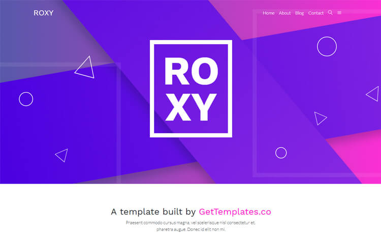 Free Bootstrap 4 HTML5 Multi-Purpose Website Template