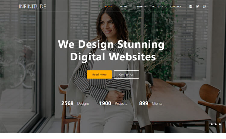Free Responsive Corporate Business Website Template
