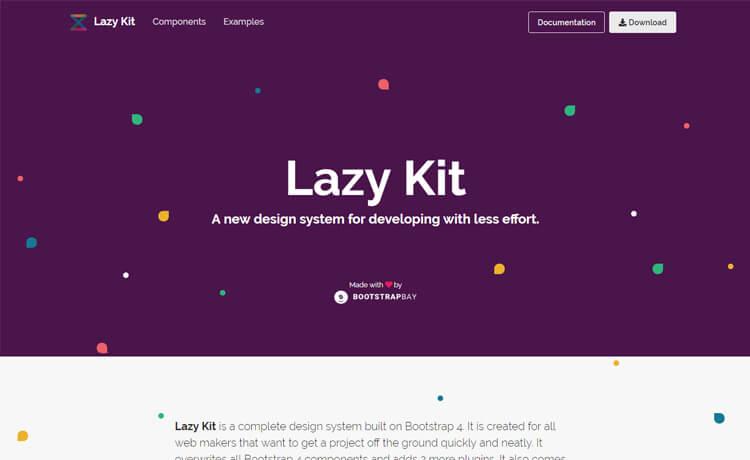 free Bootstrap 4 UI kit