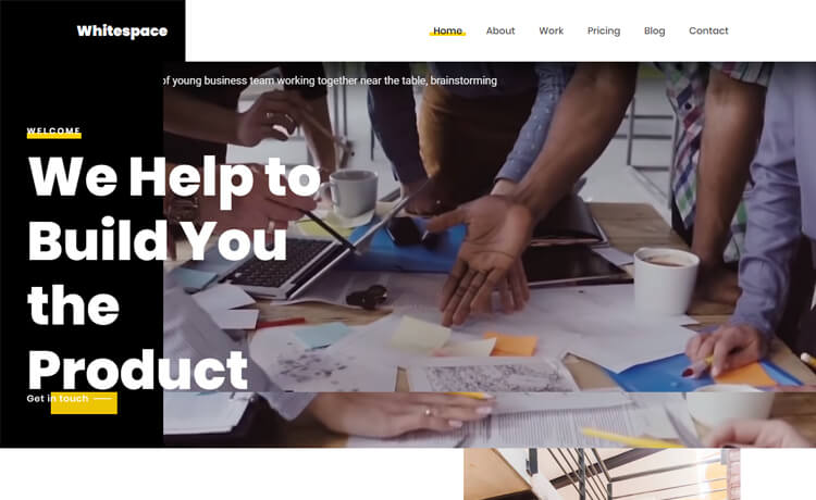 Free HTML5 Bootstrap 4 Responsive Business Website Template
