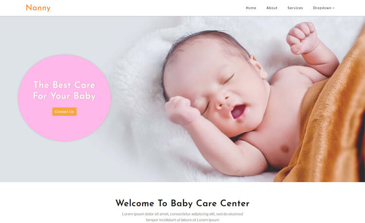 Free Bootstrap 4 HTML5 Non-profit/NGO Website Template