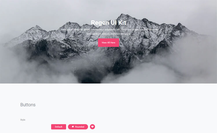 Free Bootstrap 4 HTML5 UI Kit Website Template