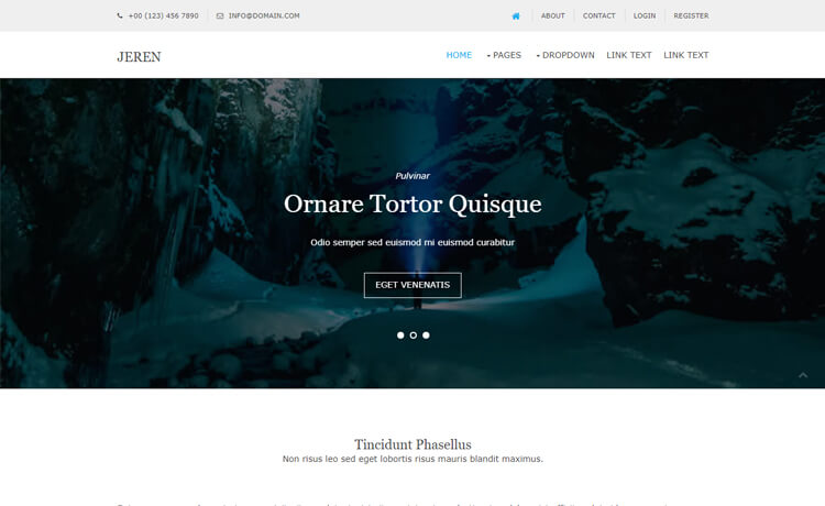Free Bootstrap 4 HTML5 Multi-purpose Agency Website Template