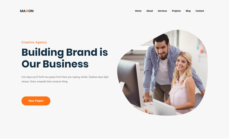 Free Bootstrap 4 HTML5 Professional Business Website Template