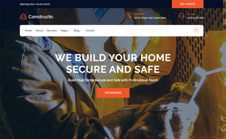 Free Bootstrap 4 HTML5 Business Website Template