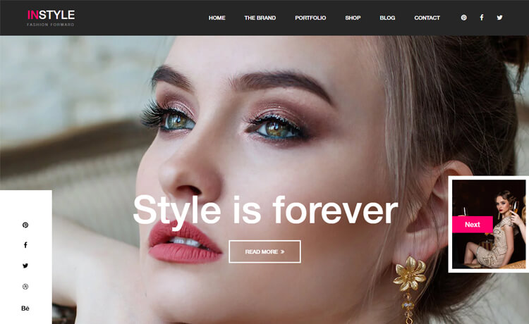 Free Bootstrap 4 HTML5 Fashion Website Template