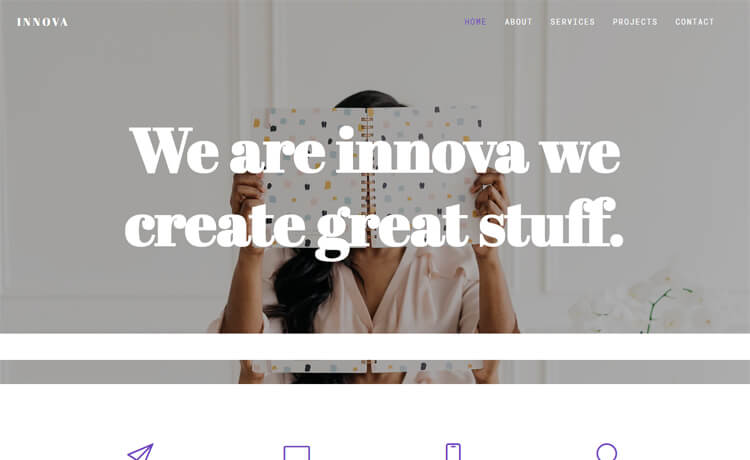Free HTML5 Bootstrap 4 Professional Business Website Template