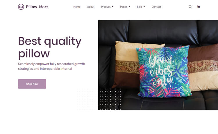 Free Bootstrap 4 HTML5 Responsive Online Store Template