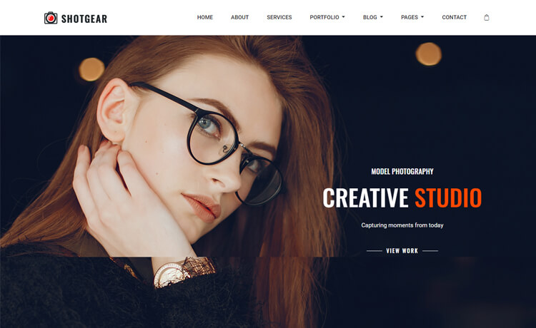 Free Bootstrap 4 HTML5 Responsive Photography Website Template