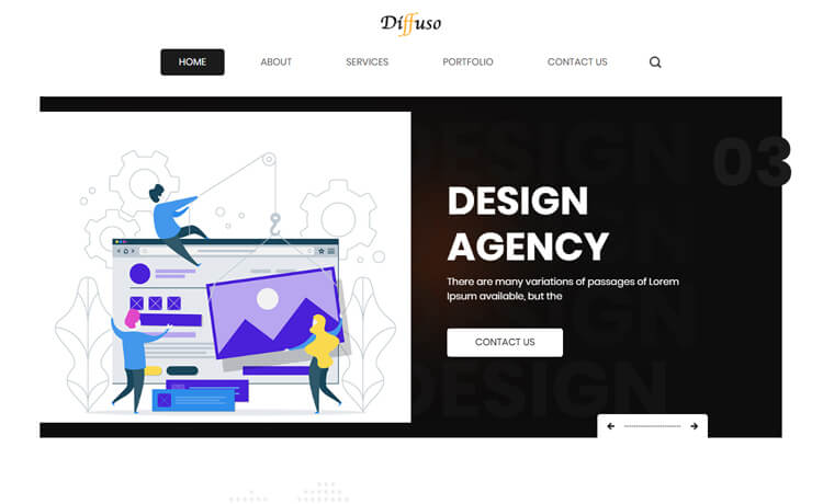 Free HTML5 Bootstrap Web Design Agency Website Template