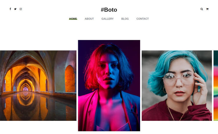 Free Bootstrap 4 HTML5 Photo Gallery Website Template