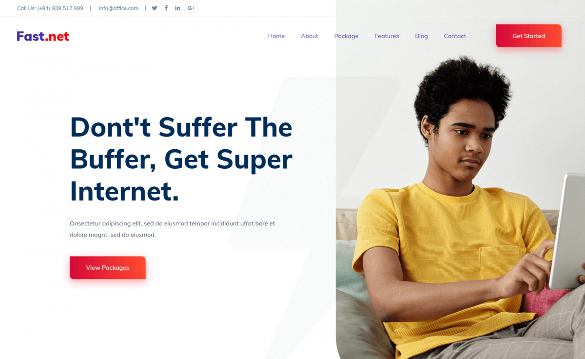 Free Bootstrap 4 HTML5 Creative Business Website Template