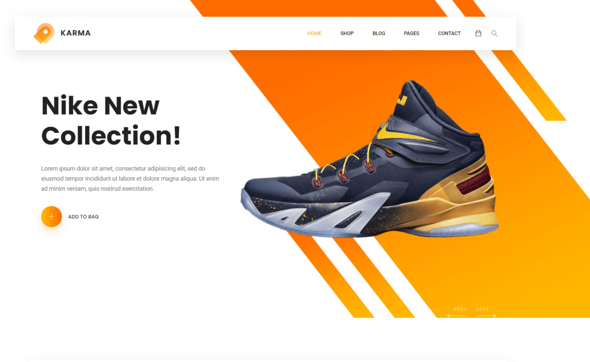 Free Reponsive Bootstrap 4 HTML5 eCommerce Website Template