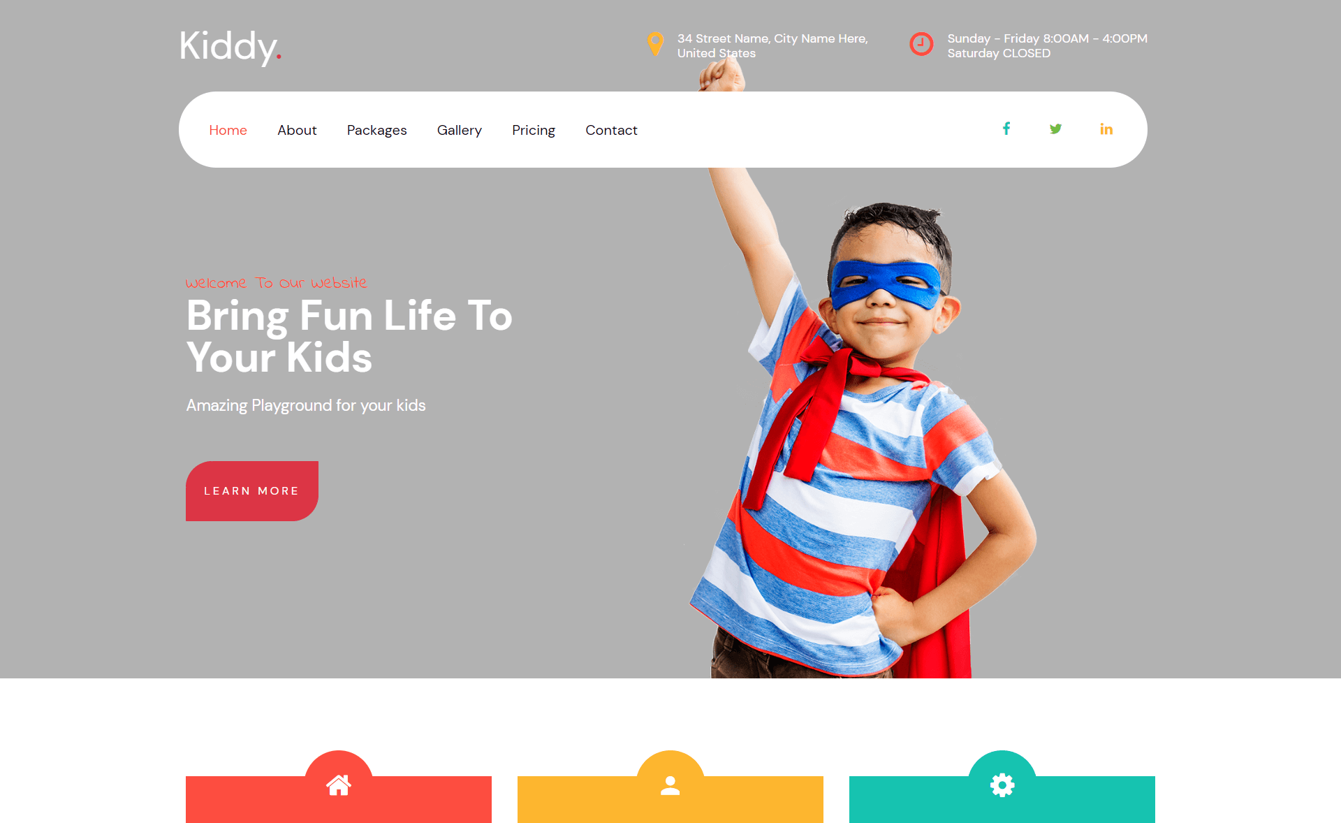 Free Responsive Bootstrap 4 HTML5 Educational Website Template