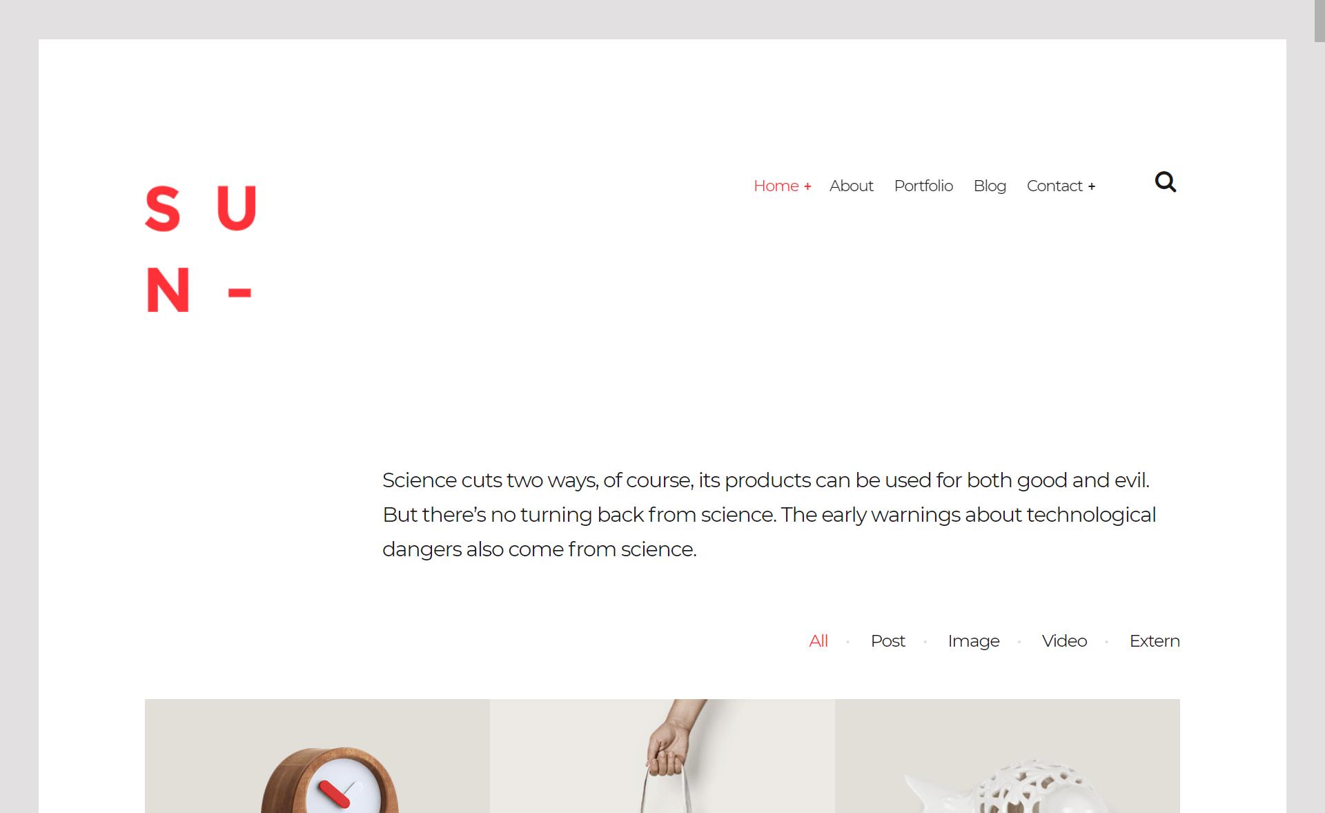 Free Responsive Bootstrap 4 HTML5 Portfolio Website Template