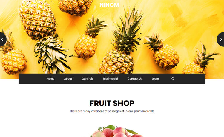 Free Bootstrap 4 HTML5 e-Commerce Website Template