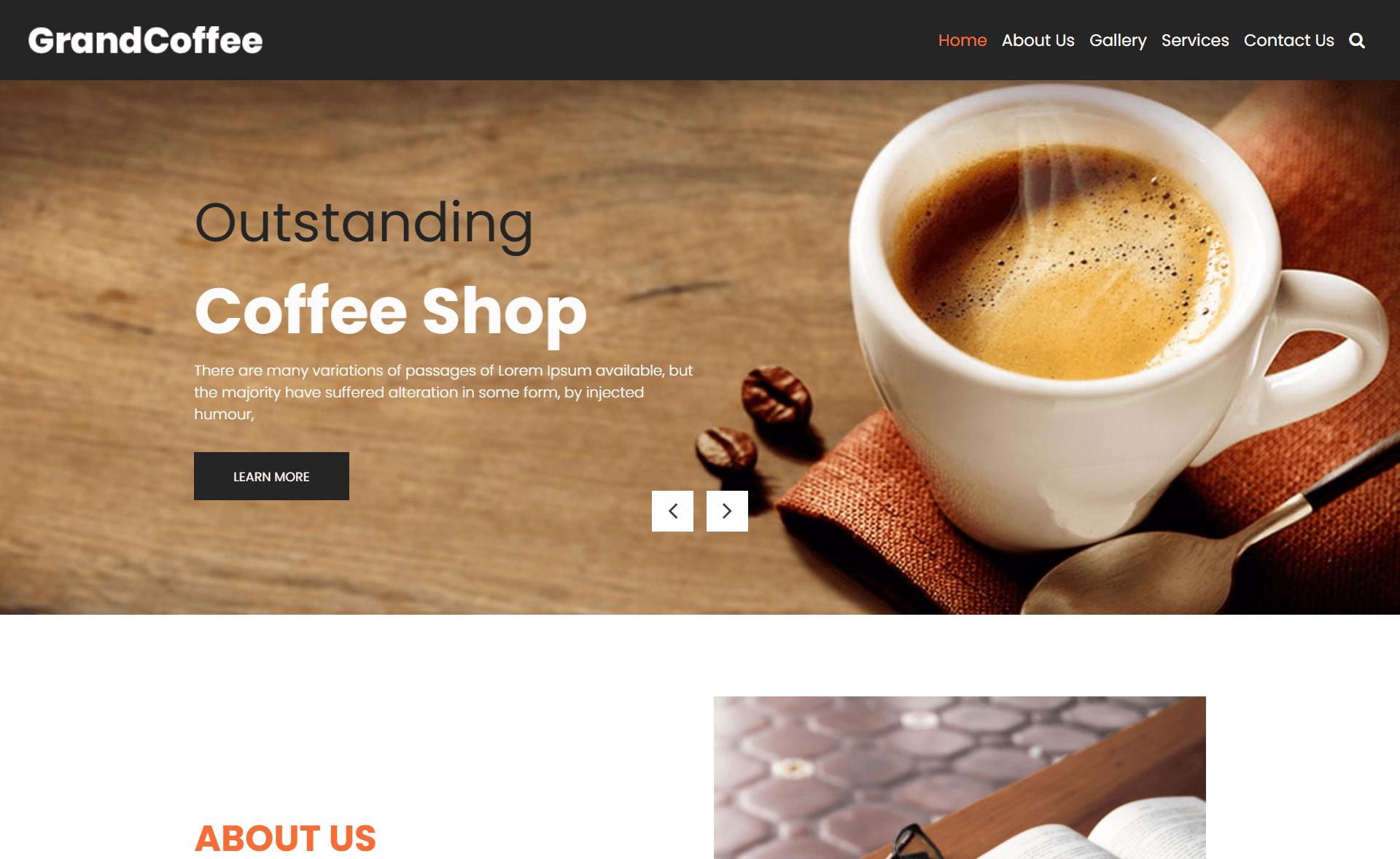 Free Responsive Bootstrap 4 HTML5 Restaurant Website Template