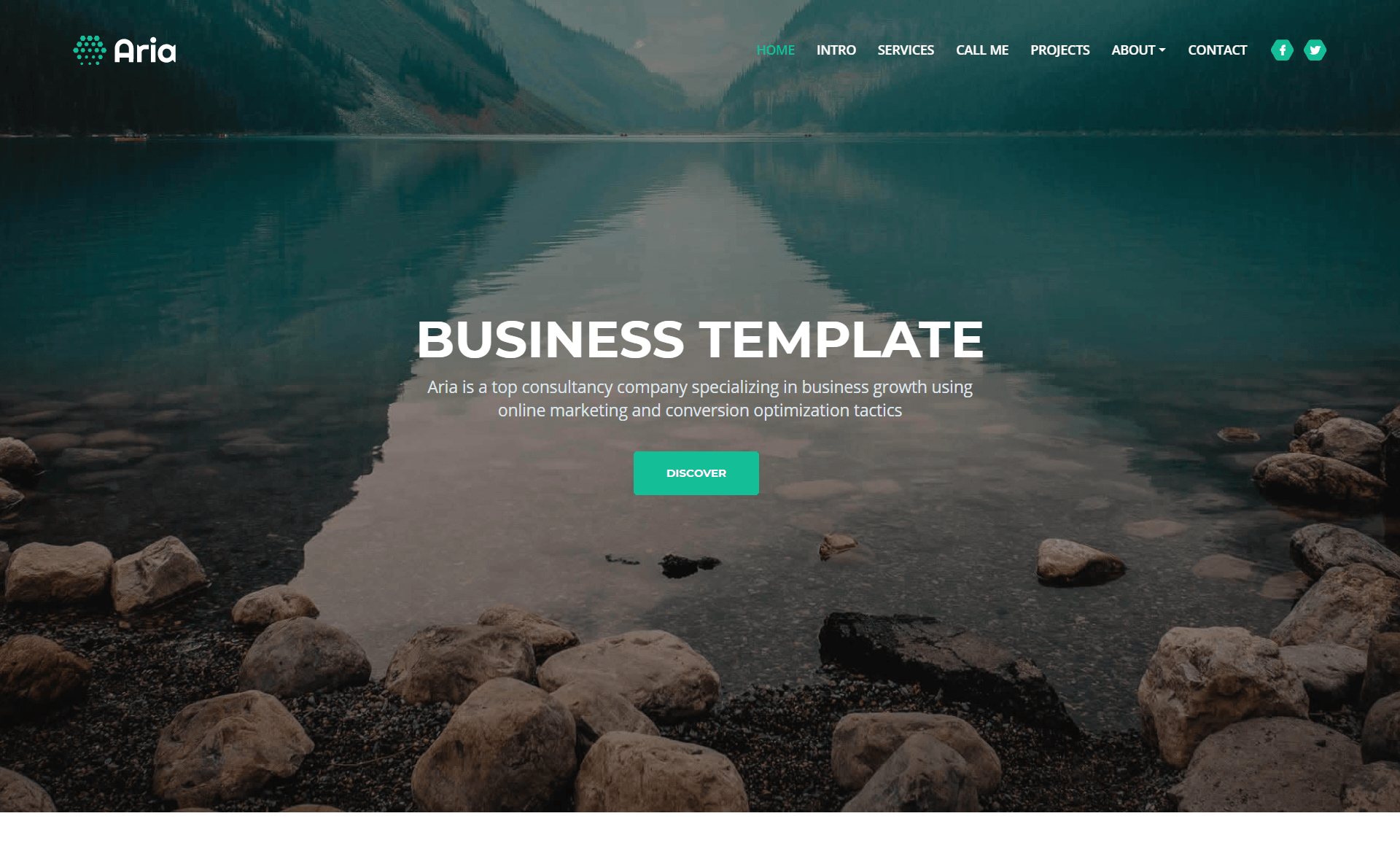 Free Responsive Bootstrap 4 HTML5 Consultancy Website Template
