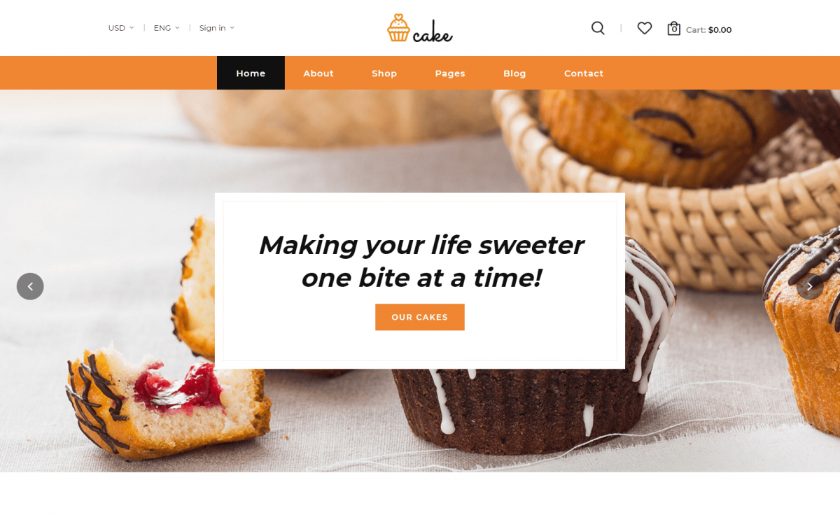 Free Responsive Bootstrap 4 HTML5 Food Website Template