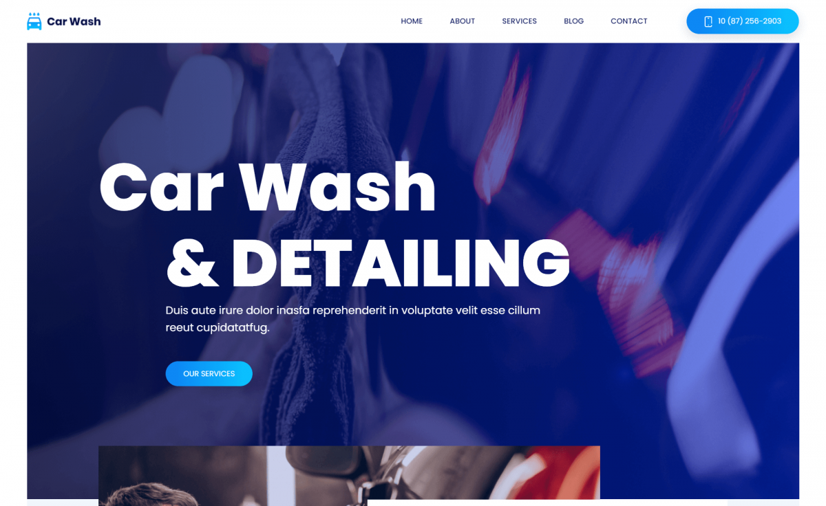 Free Magnificent Bootstrap 4 HTML5 Business Website Template