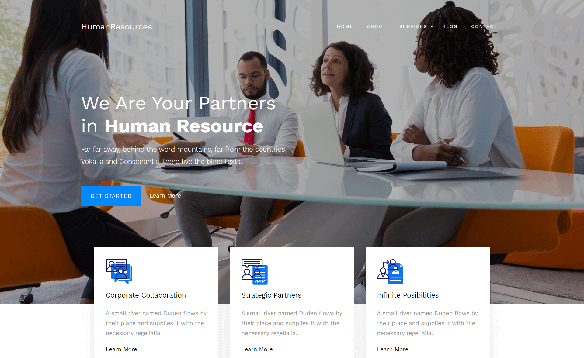 Free Responsive Bootstrap 4 HTML5 Business Website Template