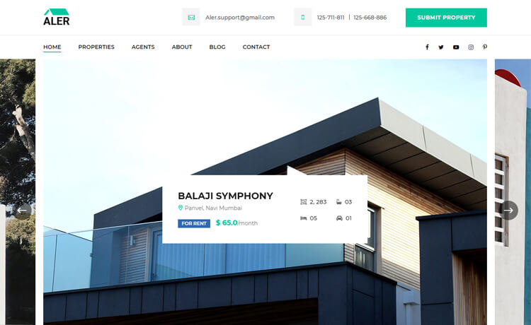 Free Bootstrap 4 HTML5 Directory Listing Website Template