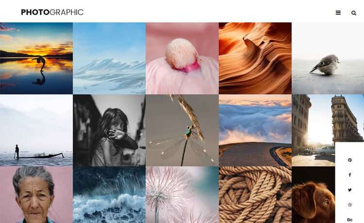 Free Bootstrap 4 HTML5 Photography Website Template