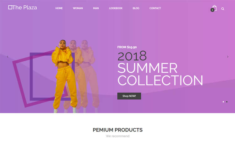 Free Bootstrap 4 HTML5 Responsive Ecommerce Website Template