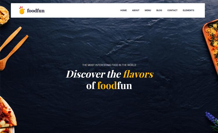 Free Bootstrap 4 HTML5 Restaurant Website Template