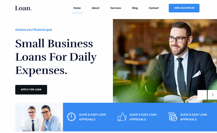 Free Bootstrap 4 HTML5 Responsive Corporate Website Template