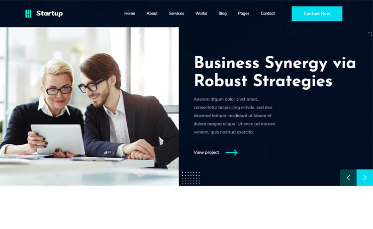 Free Bootstrap HTML5 Business Website Template