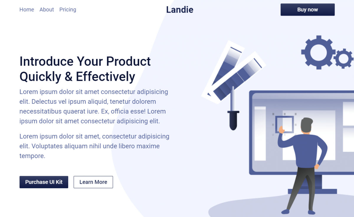 Brand New Free Bootstrap 5 HTML5 Landing Page Template