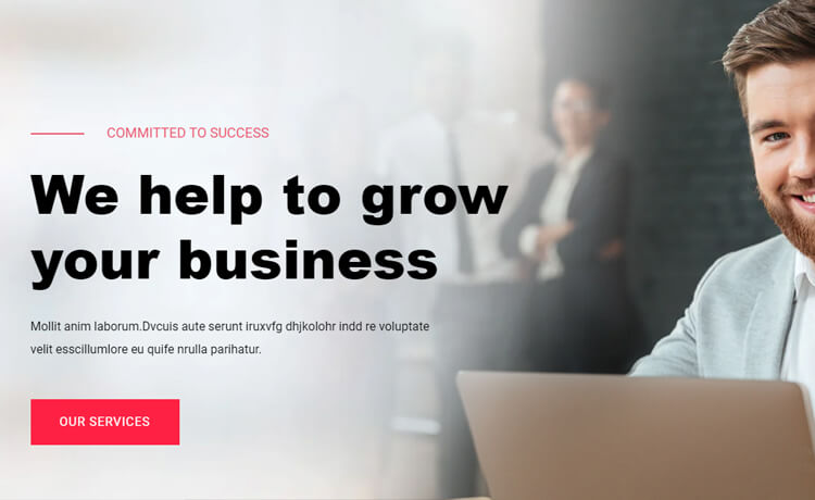Free Bootstrap 4 HTML5 Consultancy Website Template