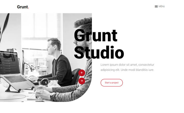 Free Bootstrap Template Made With HTML5