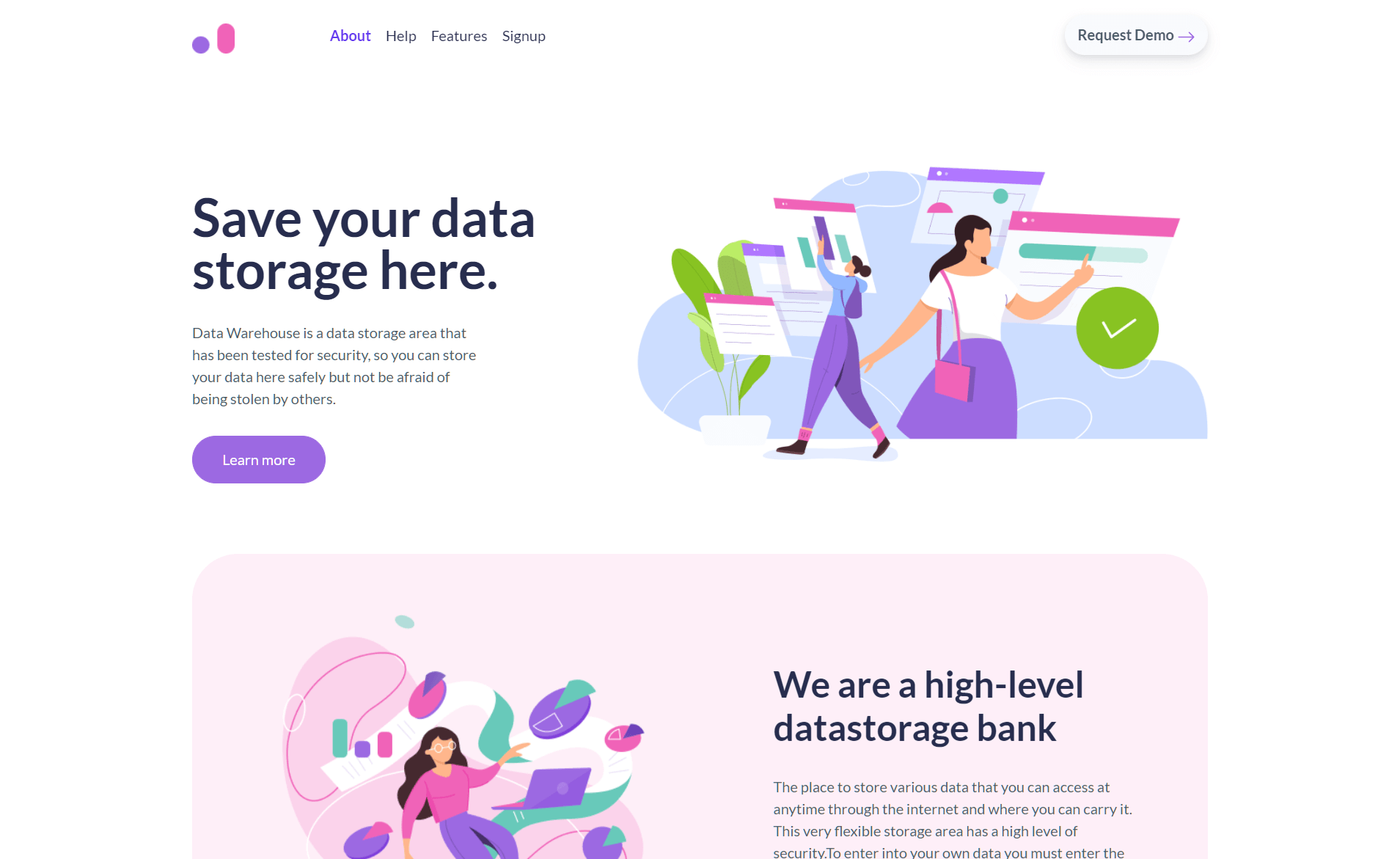 Free Bootstrap 5 HTML5 Landing Page Template