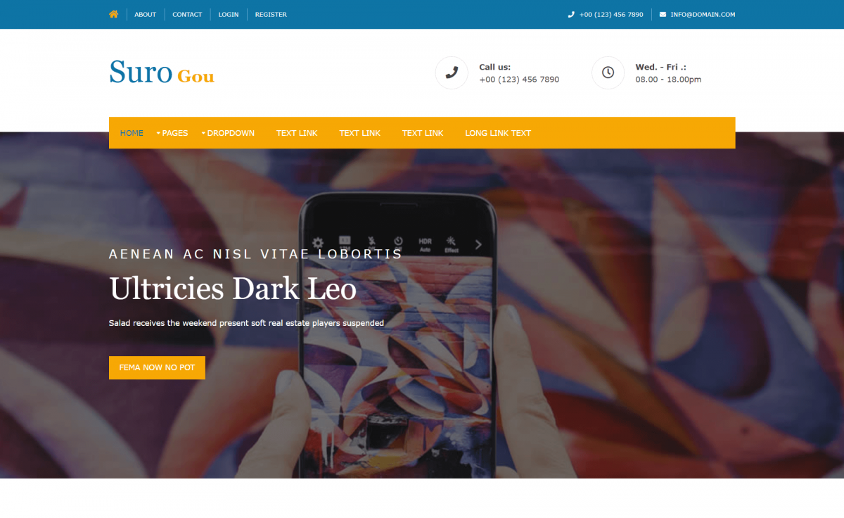 Free Bootstrap 4 HTML5 Multipurpose Website Template