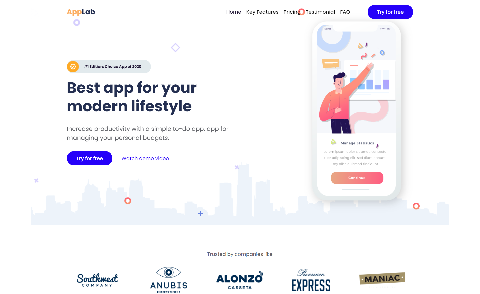Free Responsive Bootstrap 5 HTML5 Multipurpose Landing Page Template