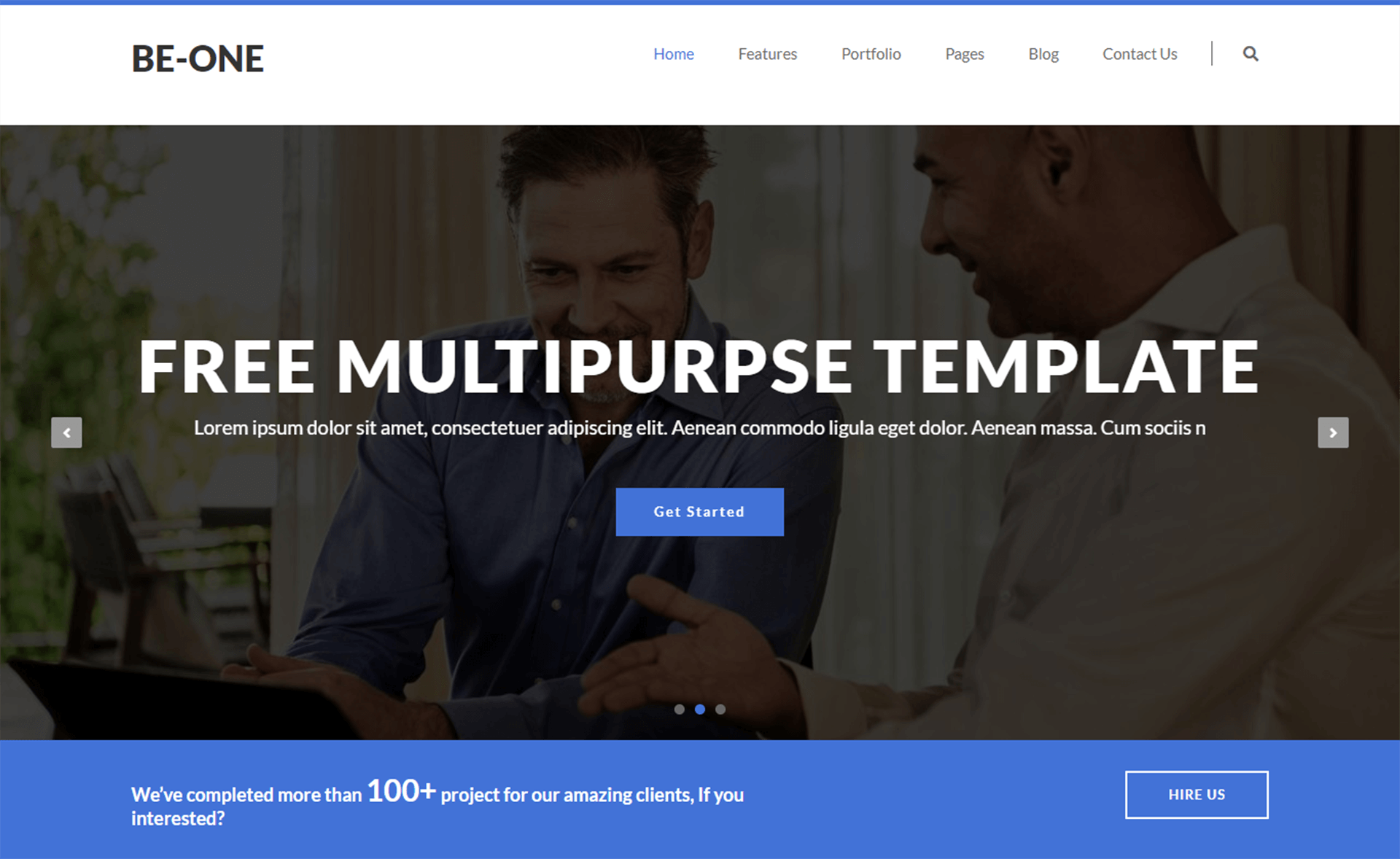 Free Bootstrap 4 HTML5 Business & Corporate template