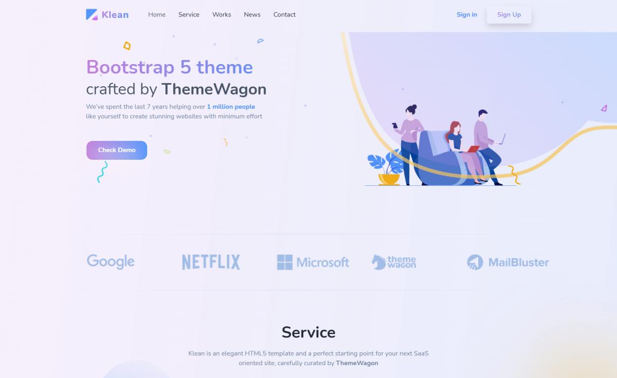 Free Responsive Bootstrap 5 HTML5 Multipurpose Landing Page