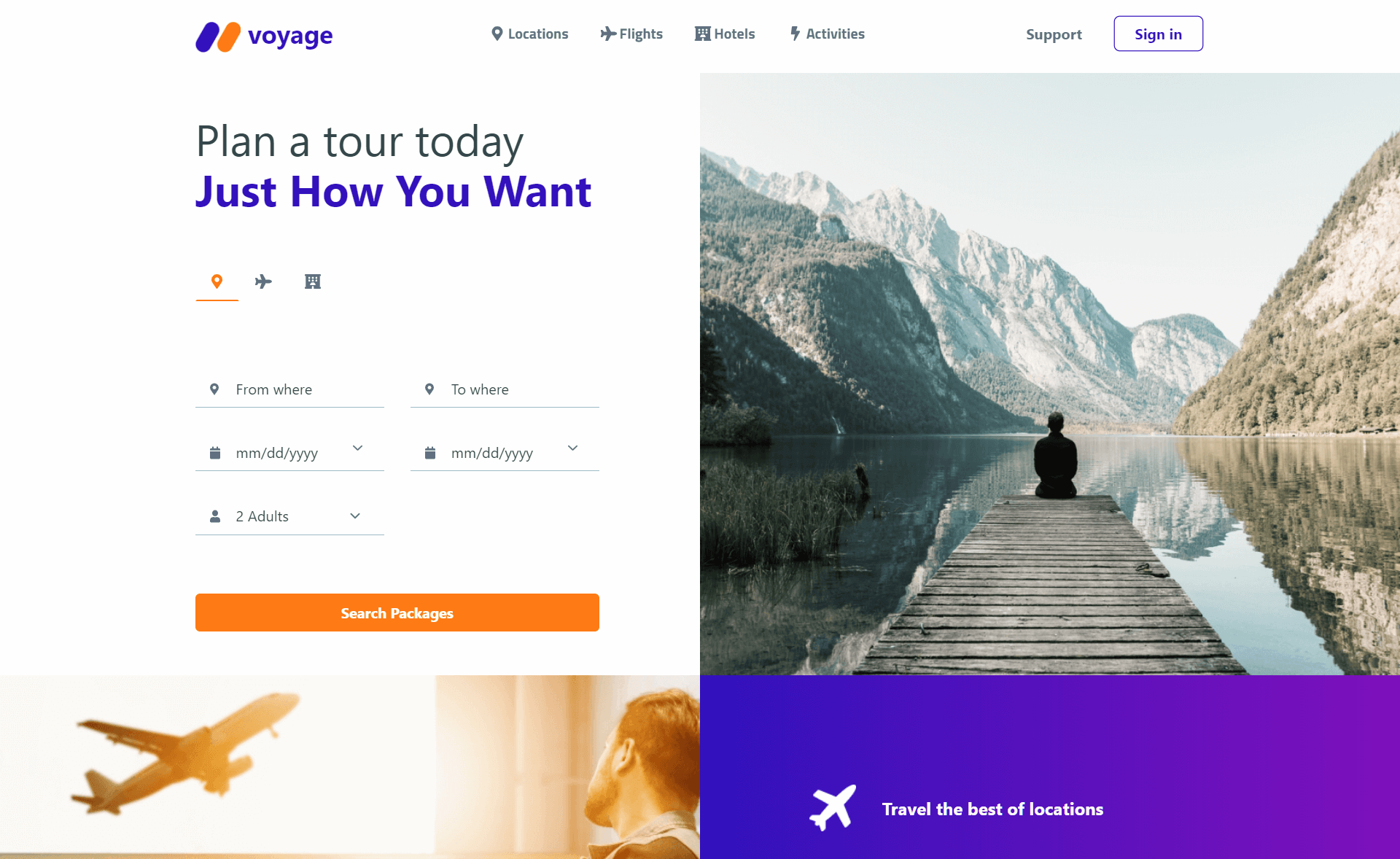 Free Responsive Bootstrap 5 HTML5 Travel Website Template
