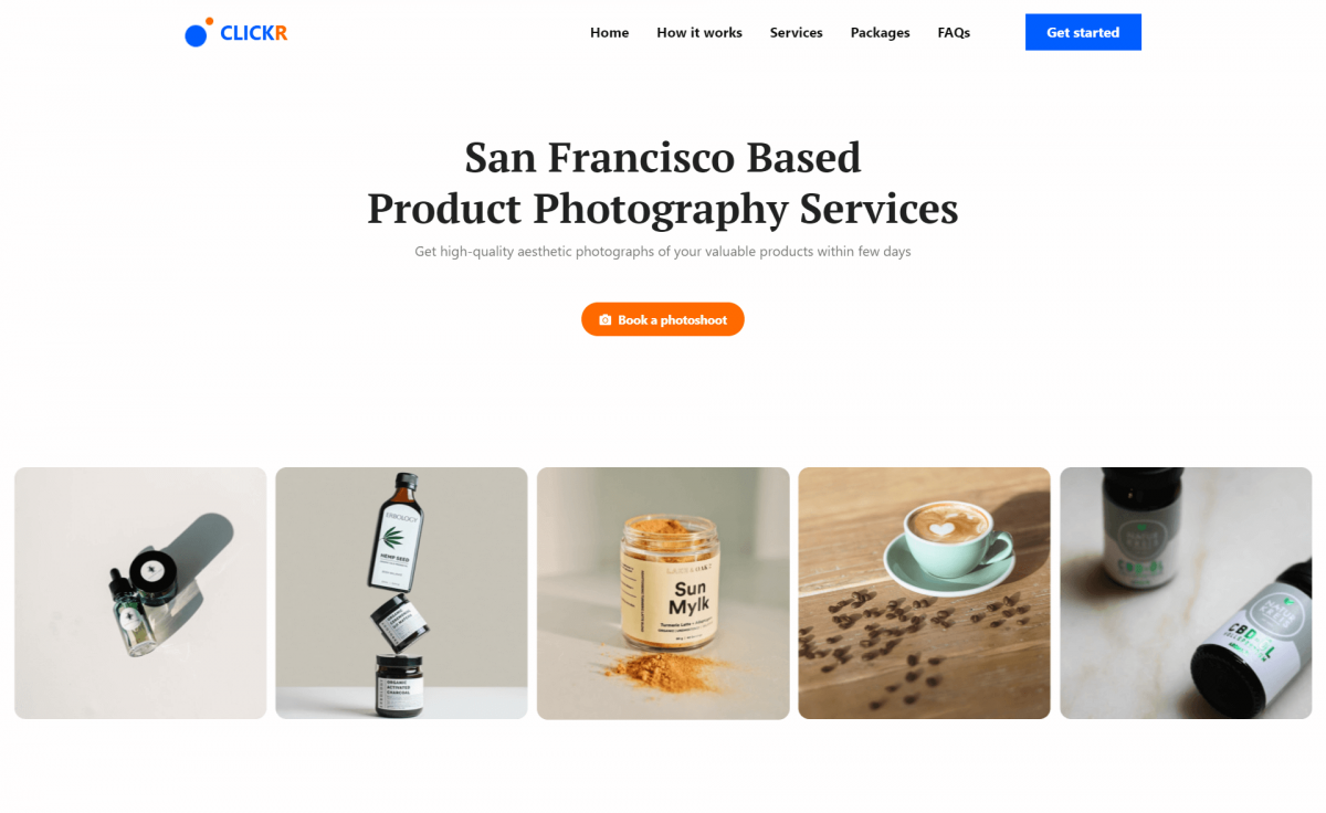 Free Bootstrap 5 HTML5 Product Photography Agency Website Template