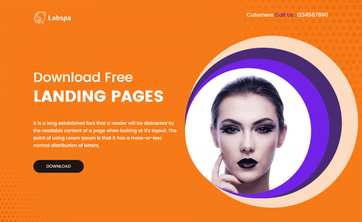 Free Bootstrap 4 HTML5 Spa Website Template