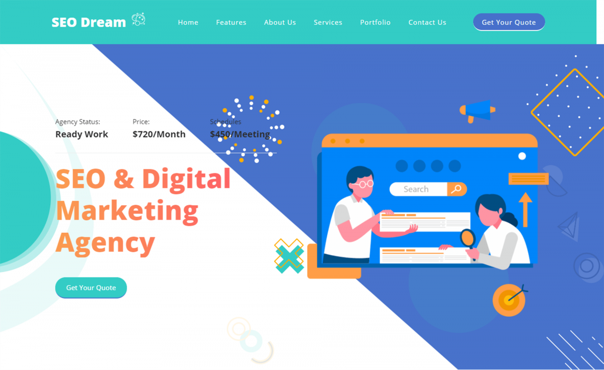 Free Bootstrap 5 HTML5 Digital Agency Website Template