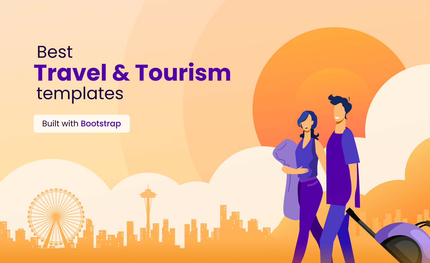 Best Travel & Tourism Template built with Bootstrap
