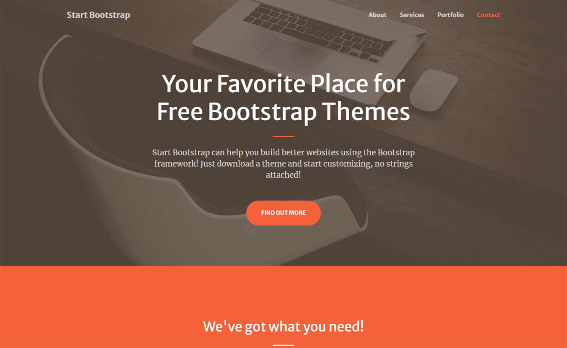 Free Bootstrap 5 HTML5 Personal Portfolio Website Template