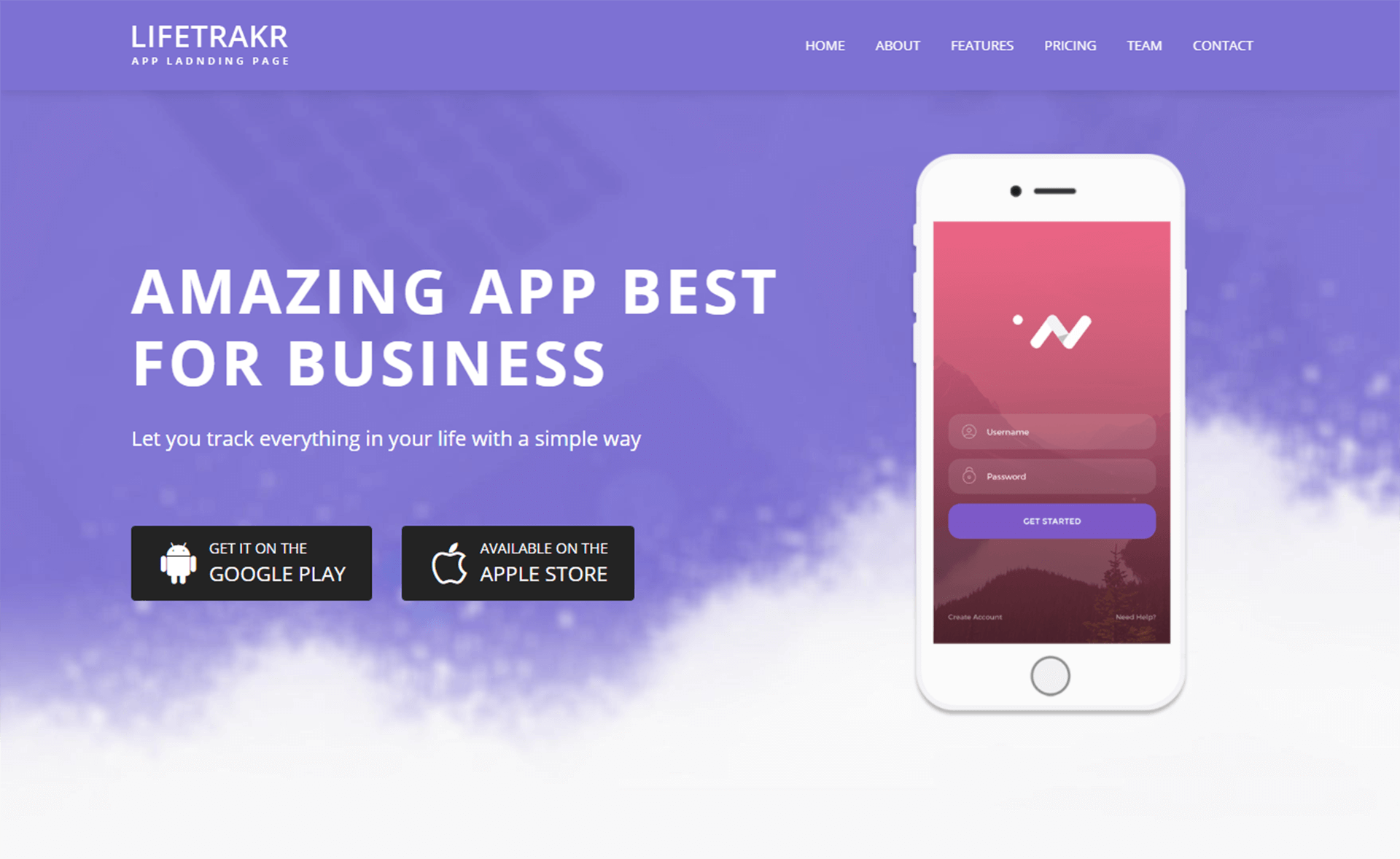 Free Bootstrap 4 HTML5 Multipurpose Landing Page Template