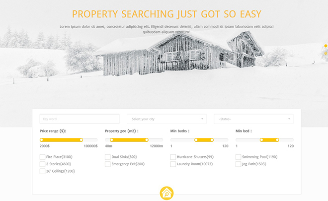 Free HTML5 Real Estate Template