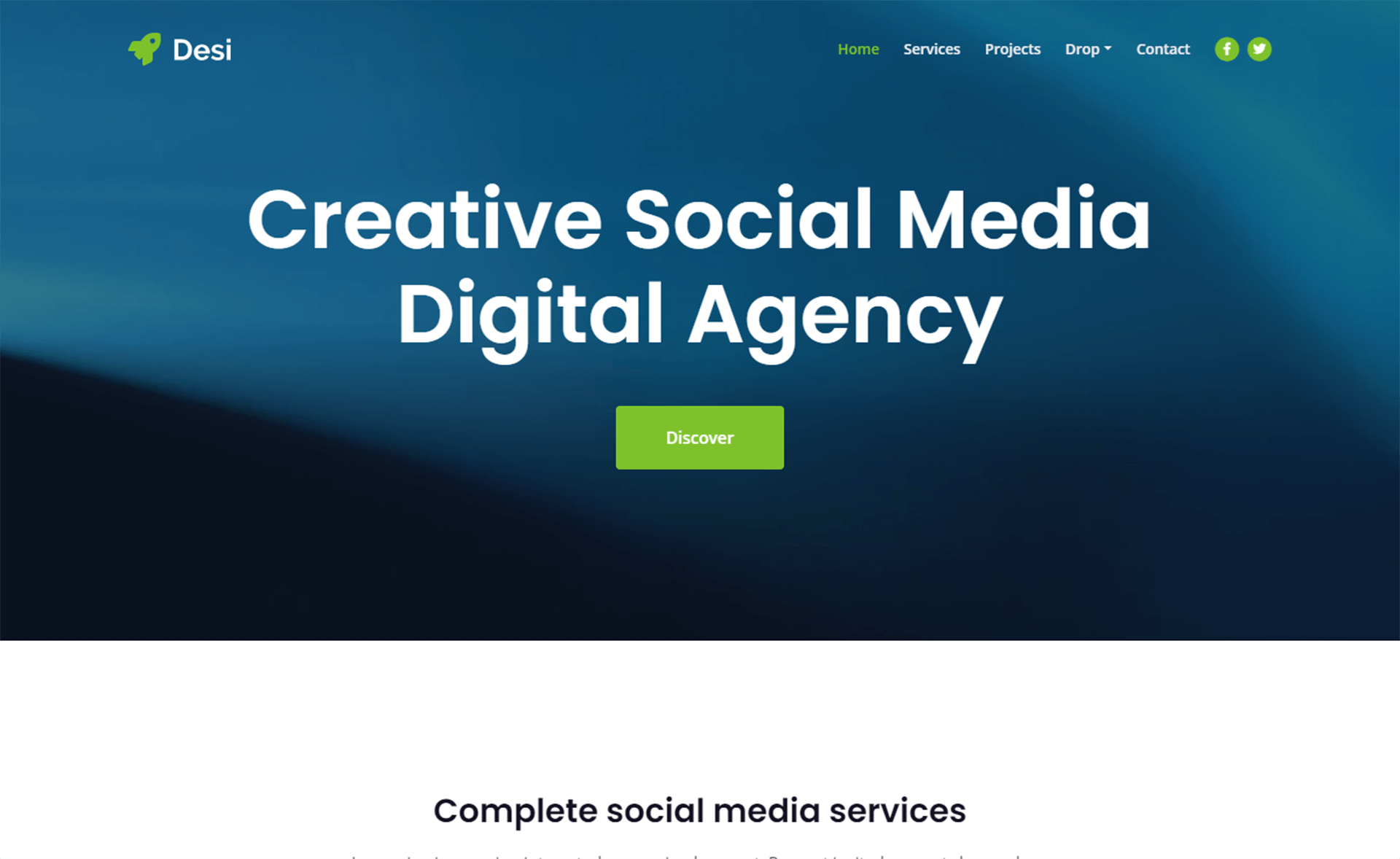 Free Bootstrap 5 HTML5 Creative Agency Website Template