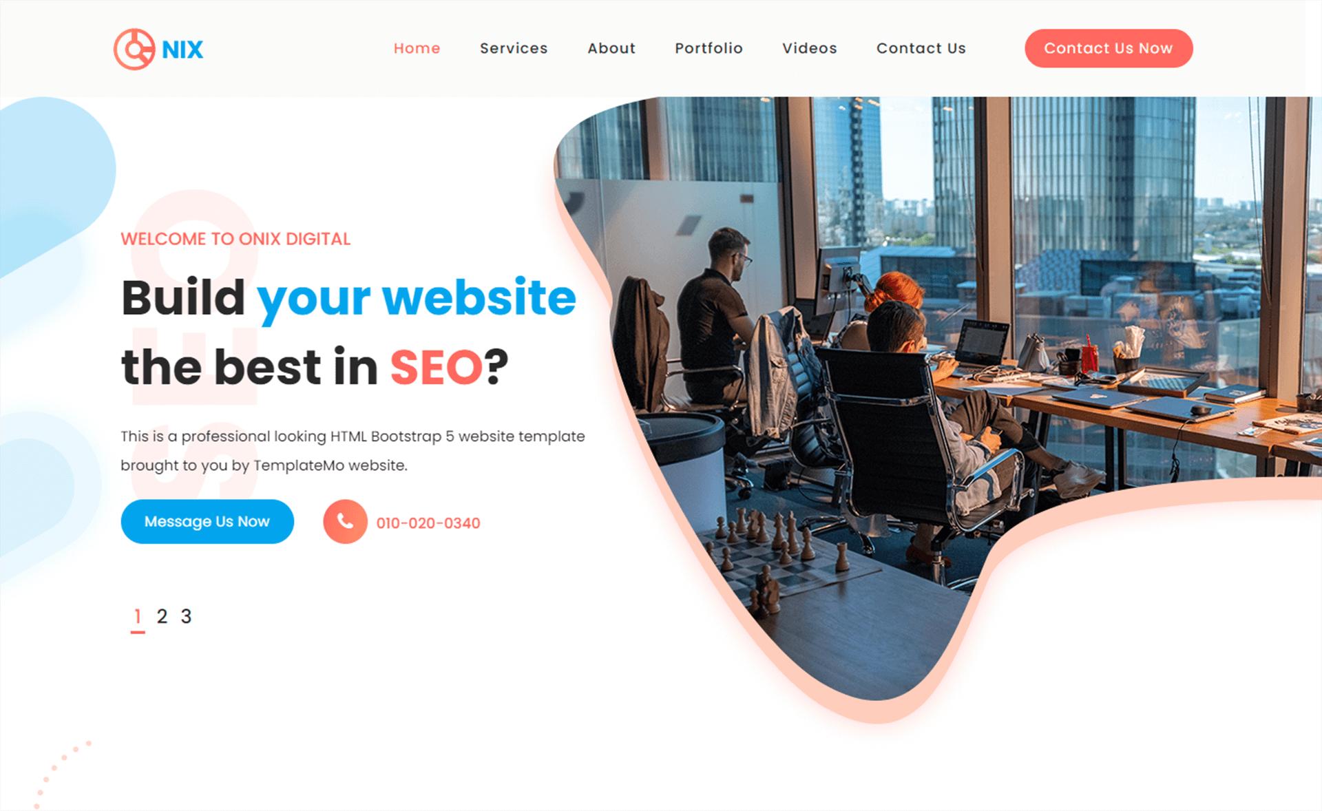 Free Bootstrap 5 HTML5 SEO & Digital Marketing Website Template